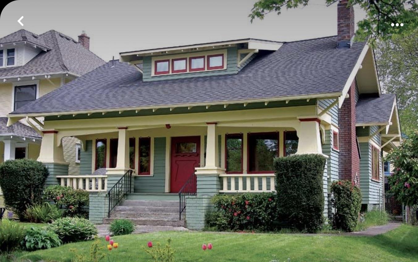A Craftsman Neighborhood in Portland, Oregon
